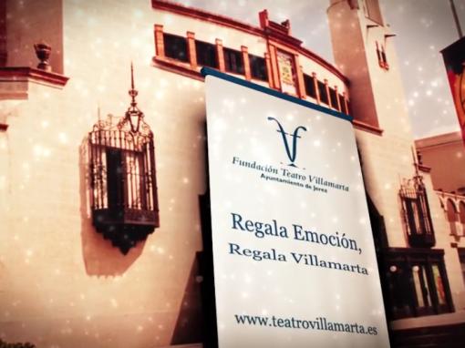 Felicitación Navidad Teatro Villamarta